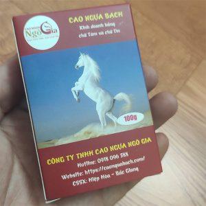 Cao ngựa bạch Bắc Giang